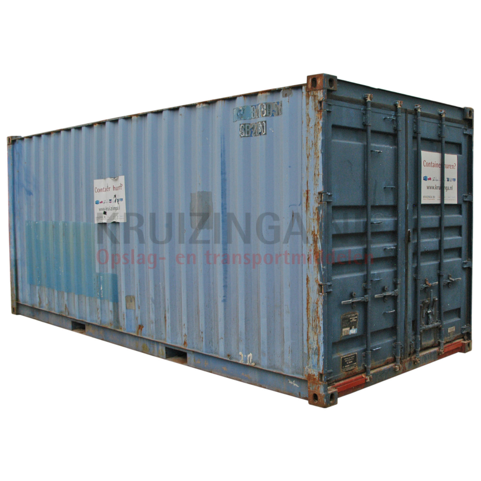 container materialcontainer 20 fu gebraucht 1750. Black Bedroom Furniture Sets. Home Design Ideas