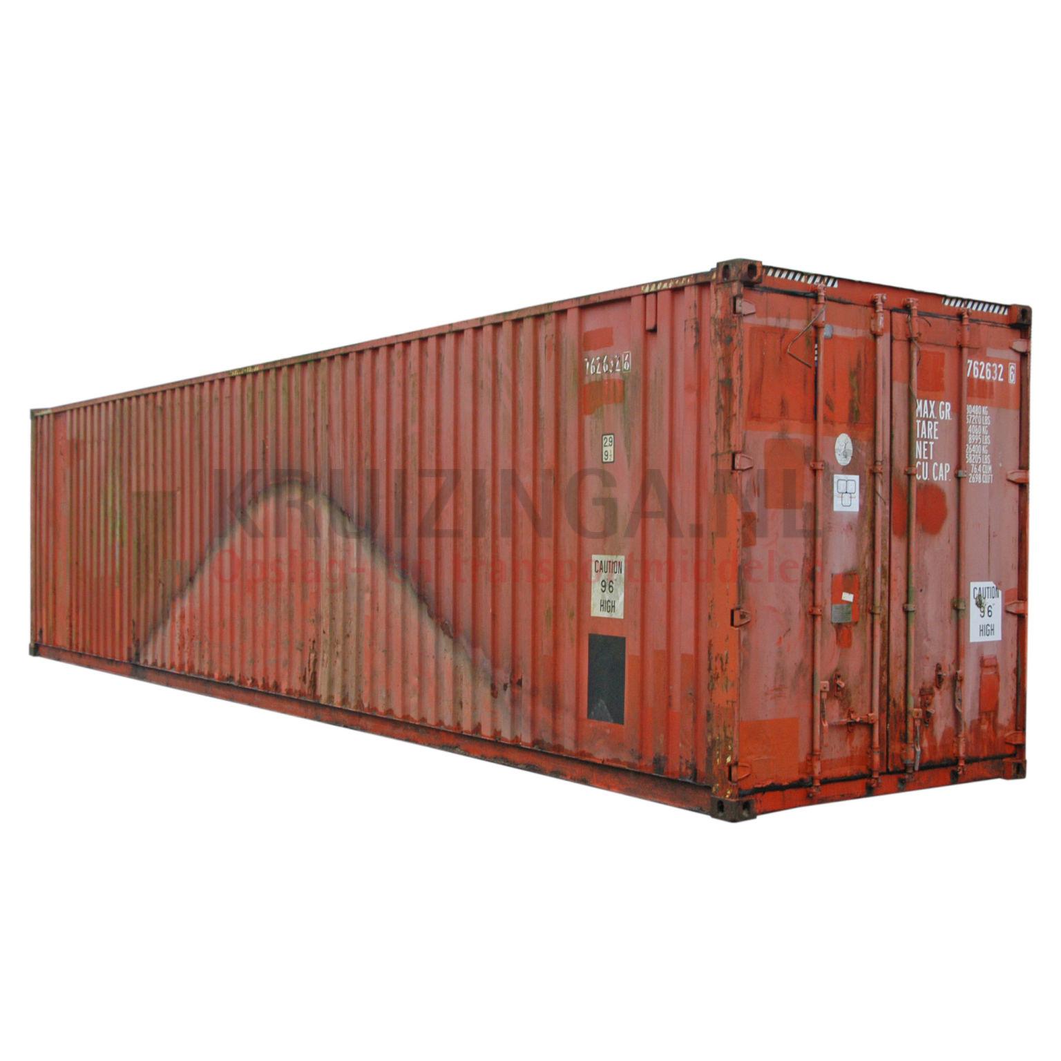 Container High Cube 40 Fuß Gebraucht € 1950,-