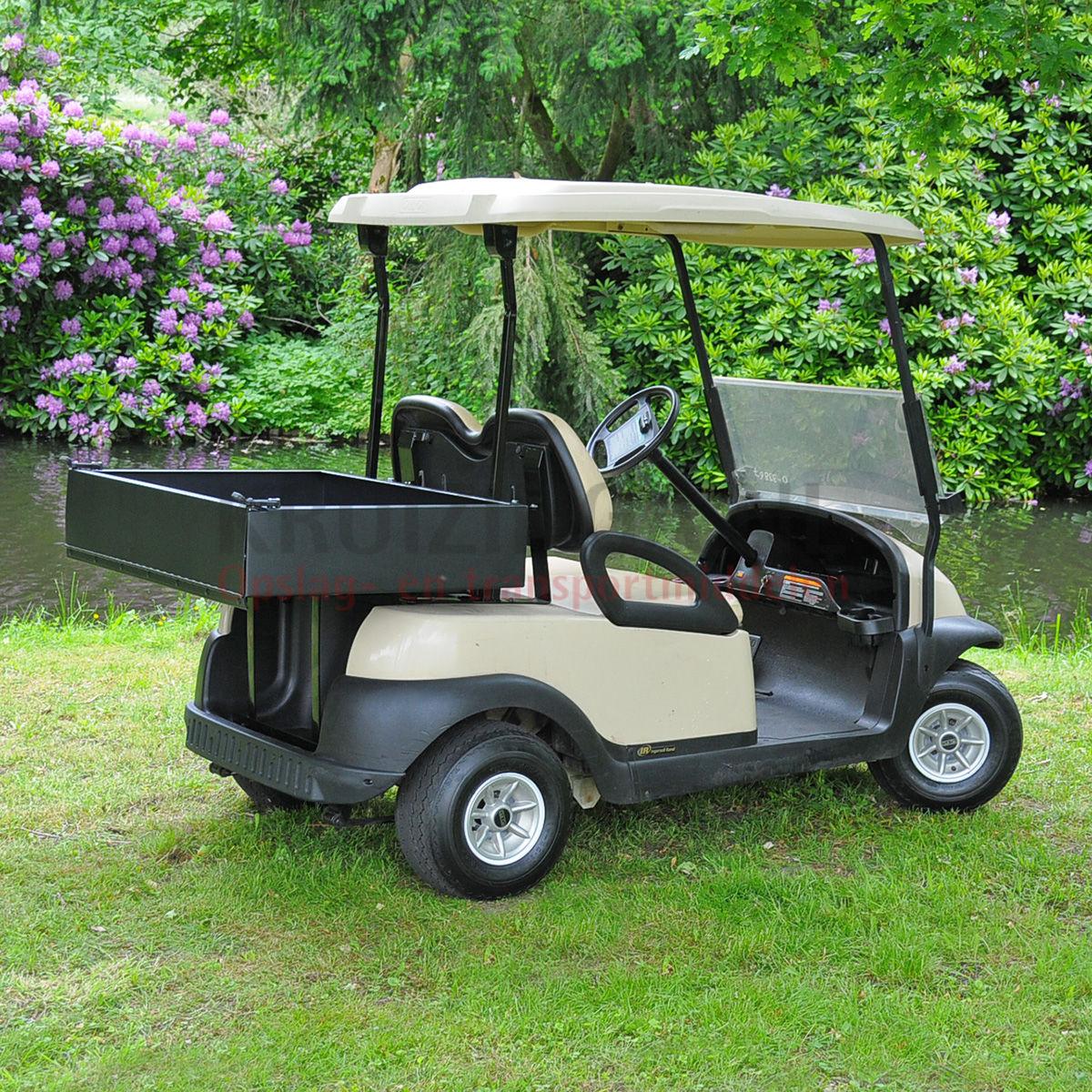 golfwagen club car precedent mit ladefl che elektrisch gebraucht. Black Bedroom Furniture Sets. Home Design Ideas