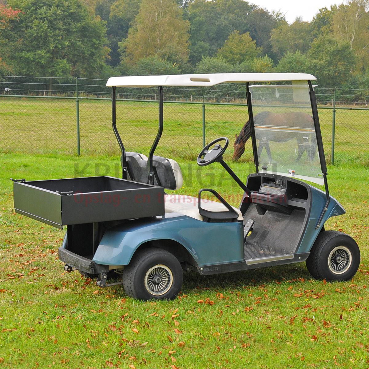 golf cart e z go pour 2 personnes incl benne lectrique occasion. Black Bedroom Furniture Sets. Home Design Ideas
