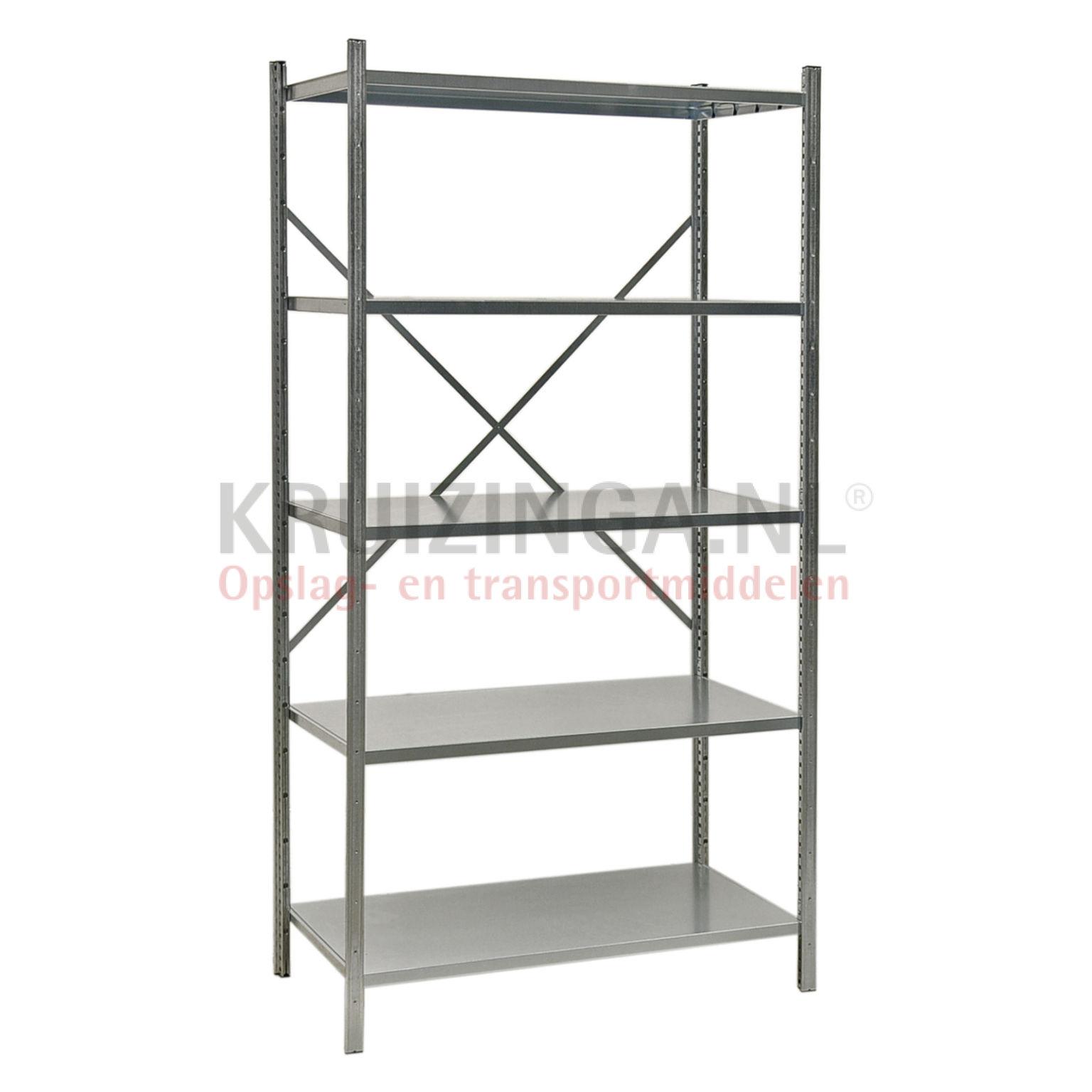 etagere rayonnage heavy duty en acier rayonnage garage du kg par tagre niveaux mm h x mm l x mm. Black Bedroom Furniture Sets. Home Design Ideas