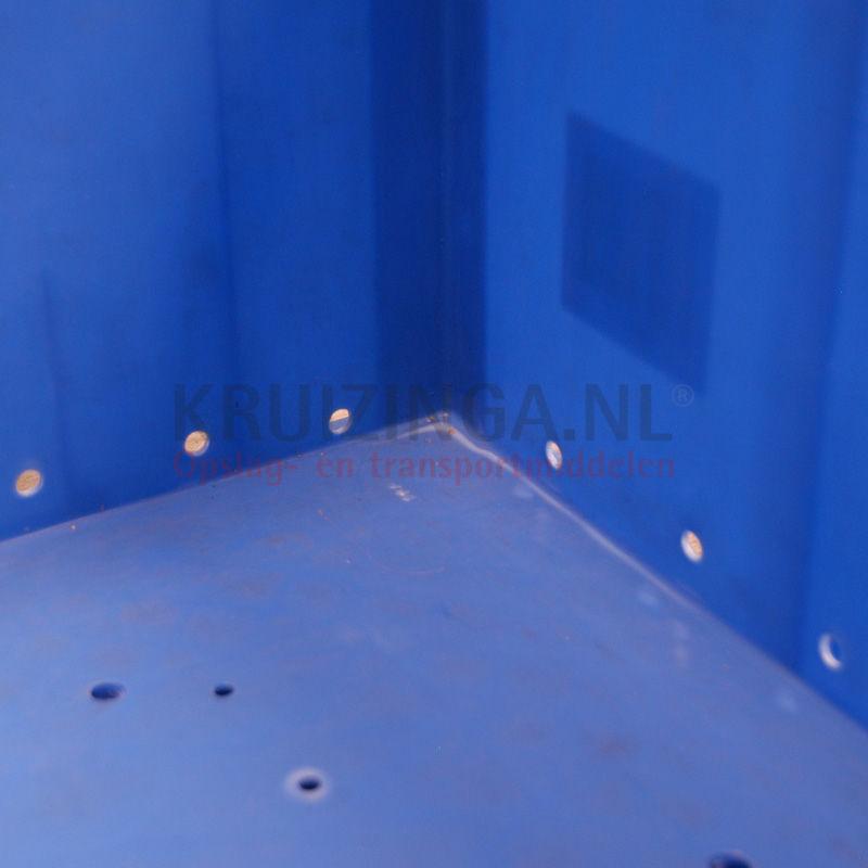 stapelbak kunststof stapelbaar dichte handgrepen gebruikt. Black Bedroom Furniture Sets. Home Design Ideas