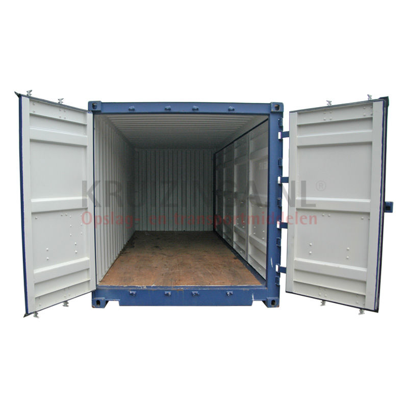 container full side open 20 fu gebraucht 4500. Black Bedroom Furniture Sets. Home Design Ideas