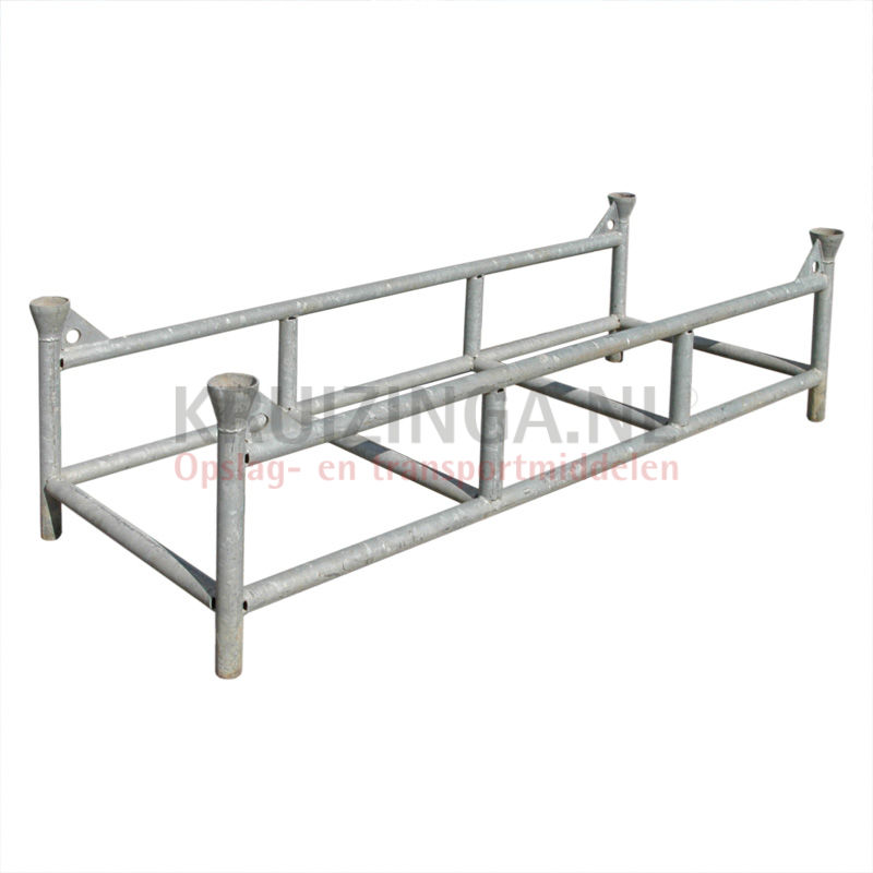palette de stockage rack pour les cl tures empilable hissable occasion. Black Bedroom Furniture Sets. Home Design Ideas