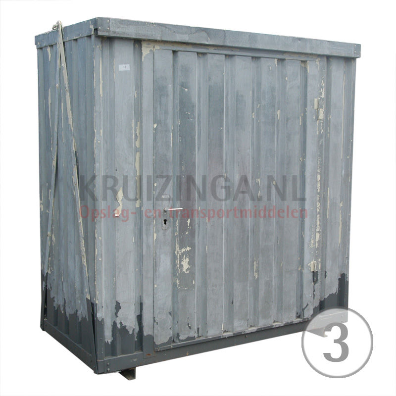 container materialcontainer 5 fu gebraucht. Black Bedroom Furniture Sets. Home Design Ideas
