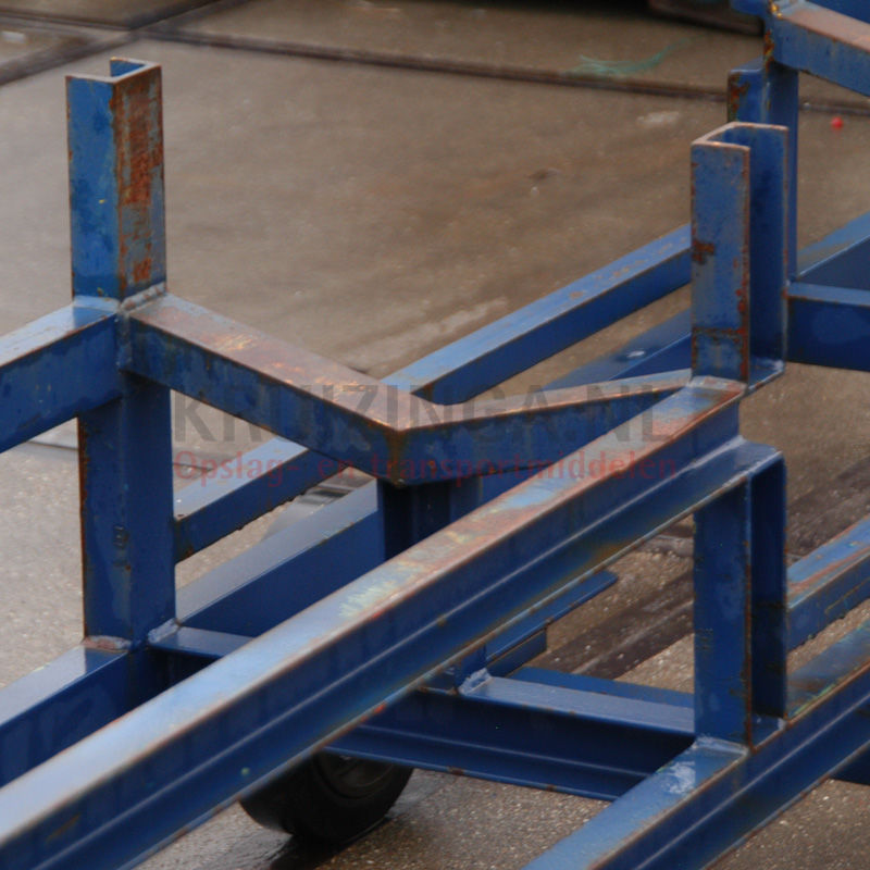 langgutgestell langmaterialwagen mit offenem rahmen gebraucht 789 frei haus. Black Bedroom Furniture Sets. Home Design Ideas