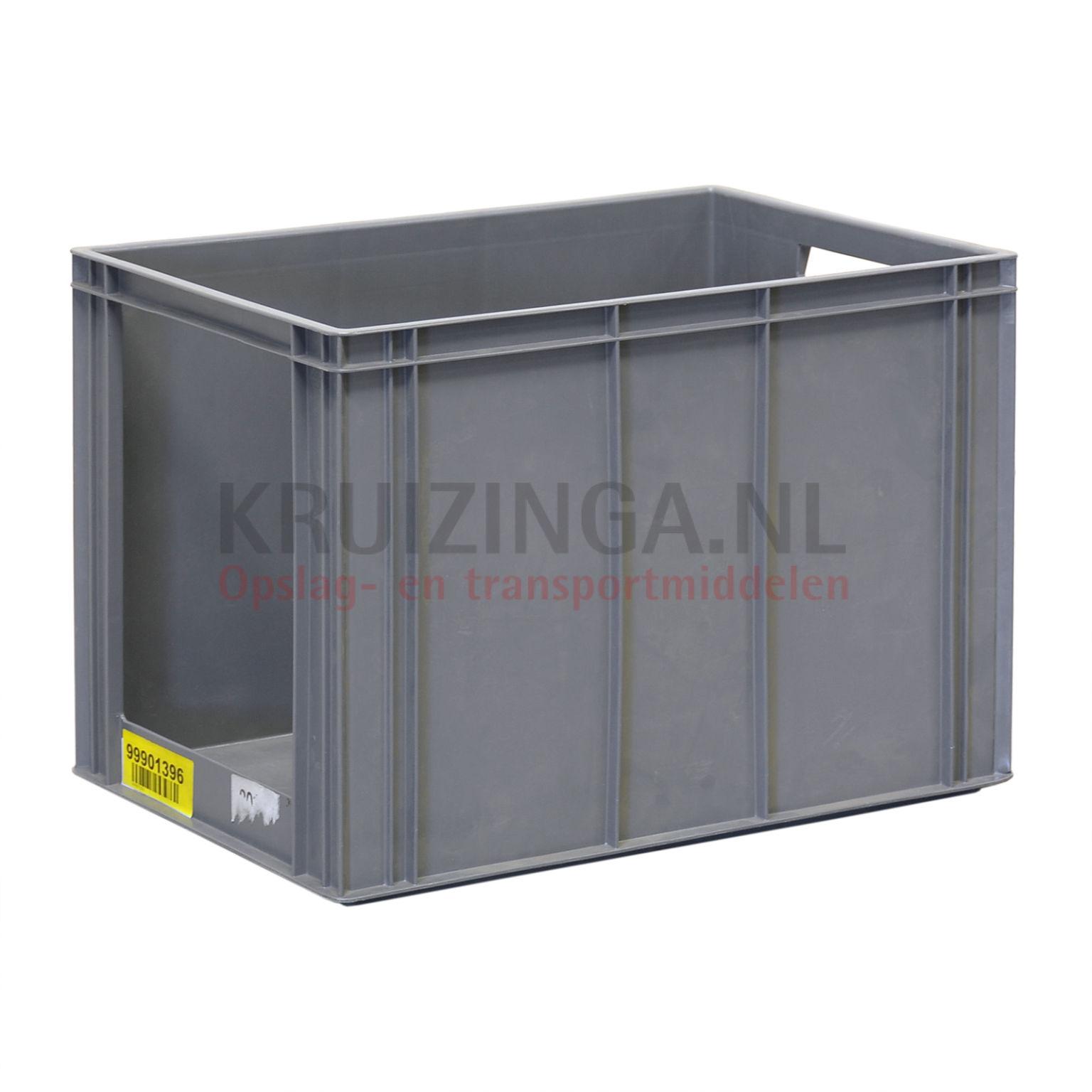 stapelboxen kunststoff stapelbar mit griff ffnung gebraucht. Black Bedroom Furniture Sets. Home Design Ideas