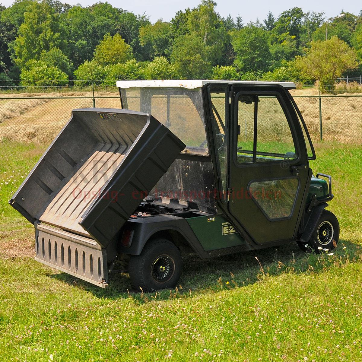 golfwagen e z go f r 2 personen mit ladefl che elektrisch. Black Bedroom Furniture Sets. Home Design Ideas