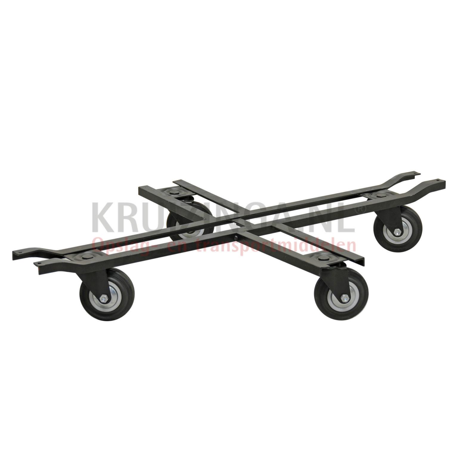 chariot ch ssis plateau roulant 4 roues pivotantes occasion 156 frais de livraison inclus. Black Bedroom Furniture Sets. Home Design Ideas