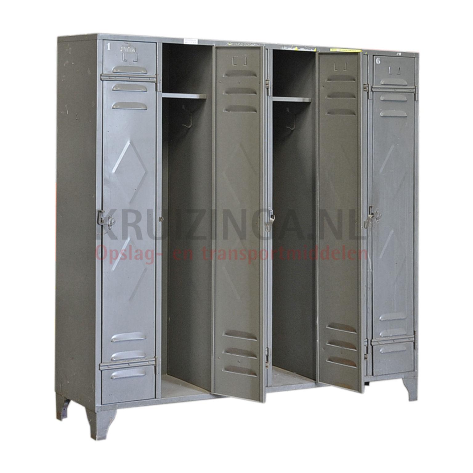 armoire armoire vestiaire 6 portes occasion. Black Bedroom Furniture Sets. Home Design Ideas
