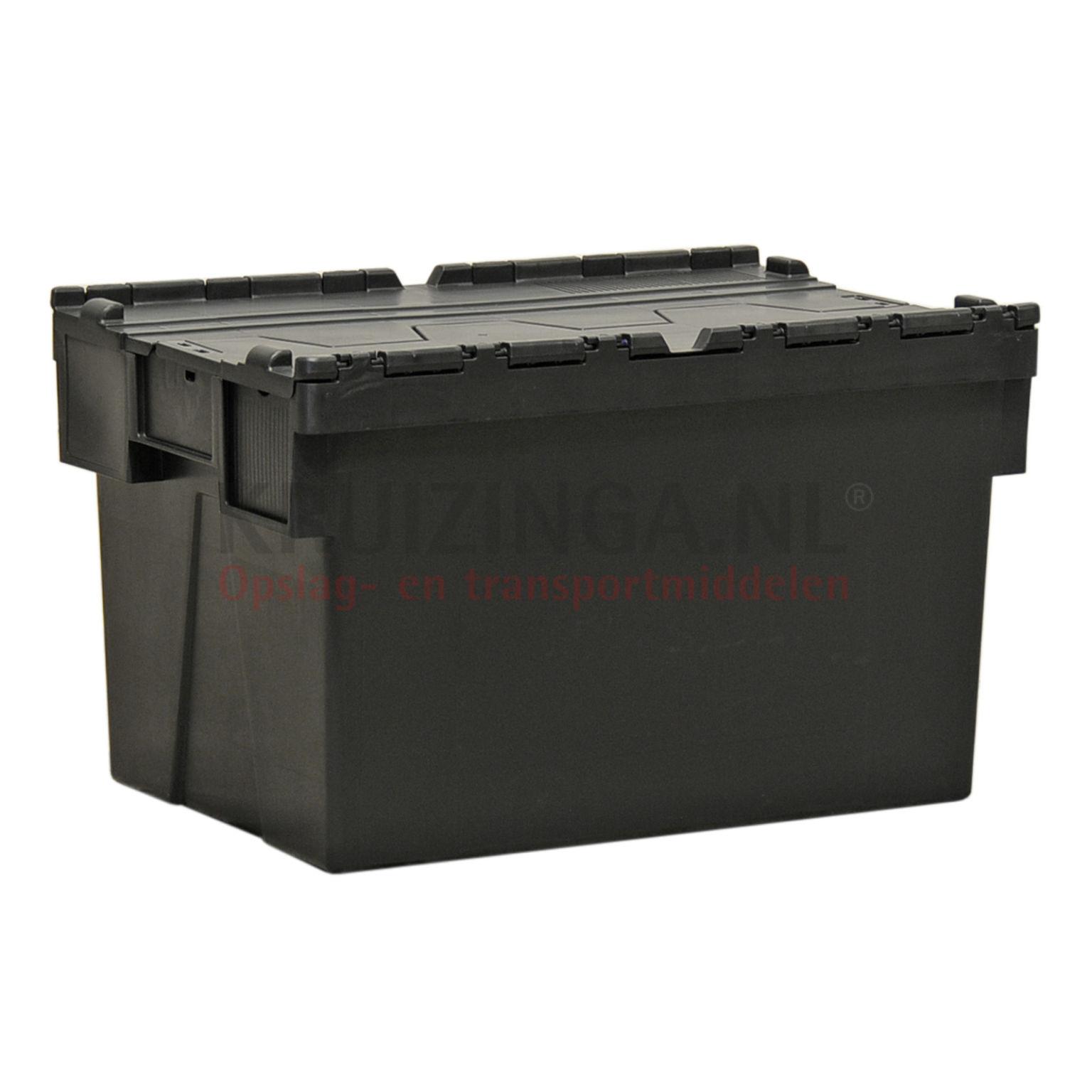 stapelboxen kunststoff schachtel und stapelbar mit 2 teiligem deckel ab 15 25 frei haus. Black Bedroom Furniture Sets. Home Design Ideas