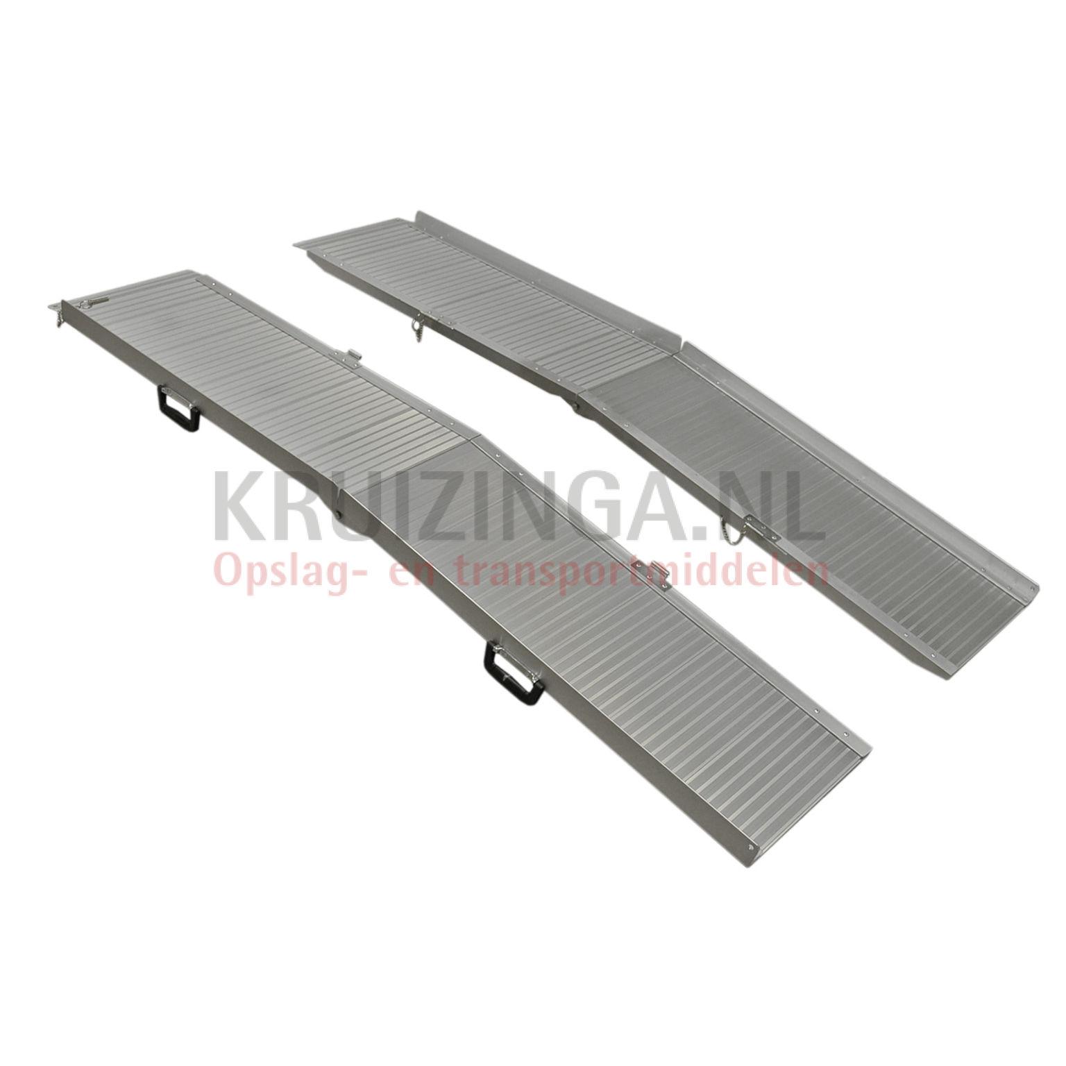 Rampe Daccès Rampe Pour Fauteuil Roulant Aluminium à Double Pliable - Rampe pour fauteuil roulant