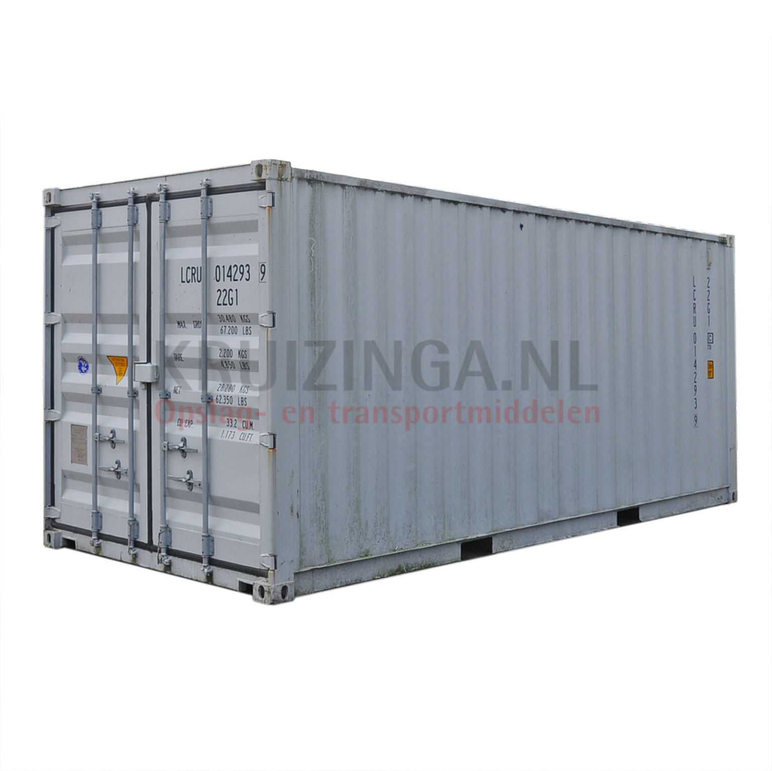 container materialcontainer 20 fu isoliert gebraucht. Black Bedroom Furniture Sets. Home Design Ideas
