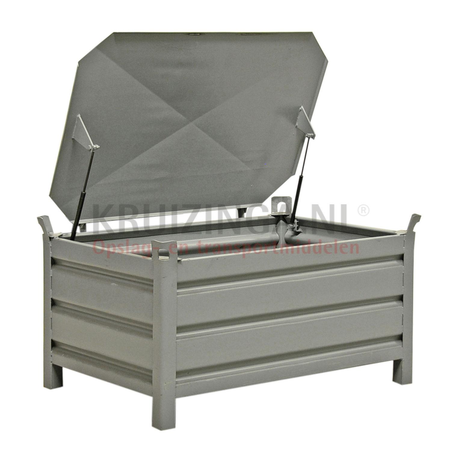 stapelboxen stahl feste konstruktion deckel mit. Black Bedroom Furniture Sets. Home Design Ideas