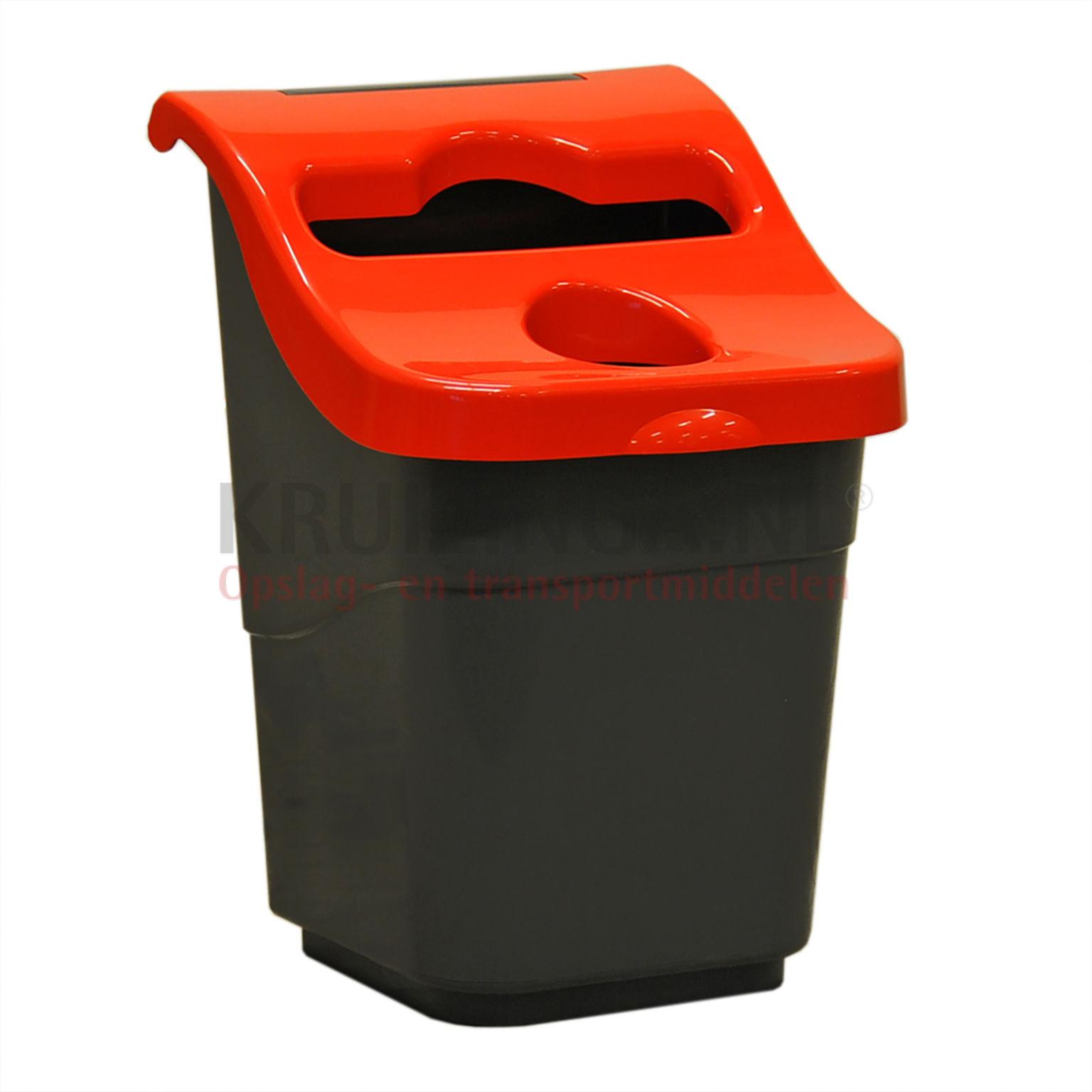 poubelle d chets et hygi ne poubelle en plastique avec couvercle partir de 27 25 frais de. Black Bedroom Furniture Sets. Home Design Ideas