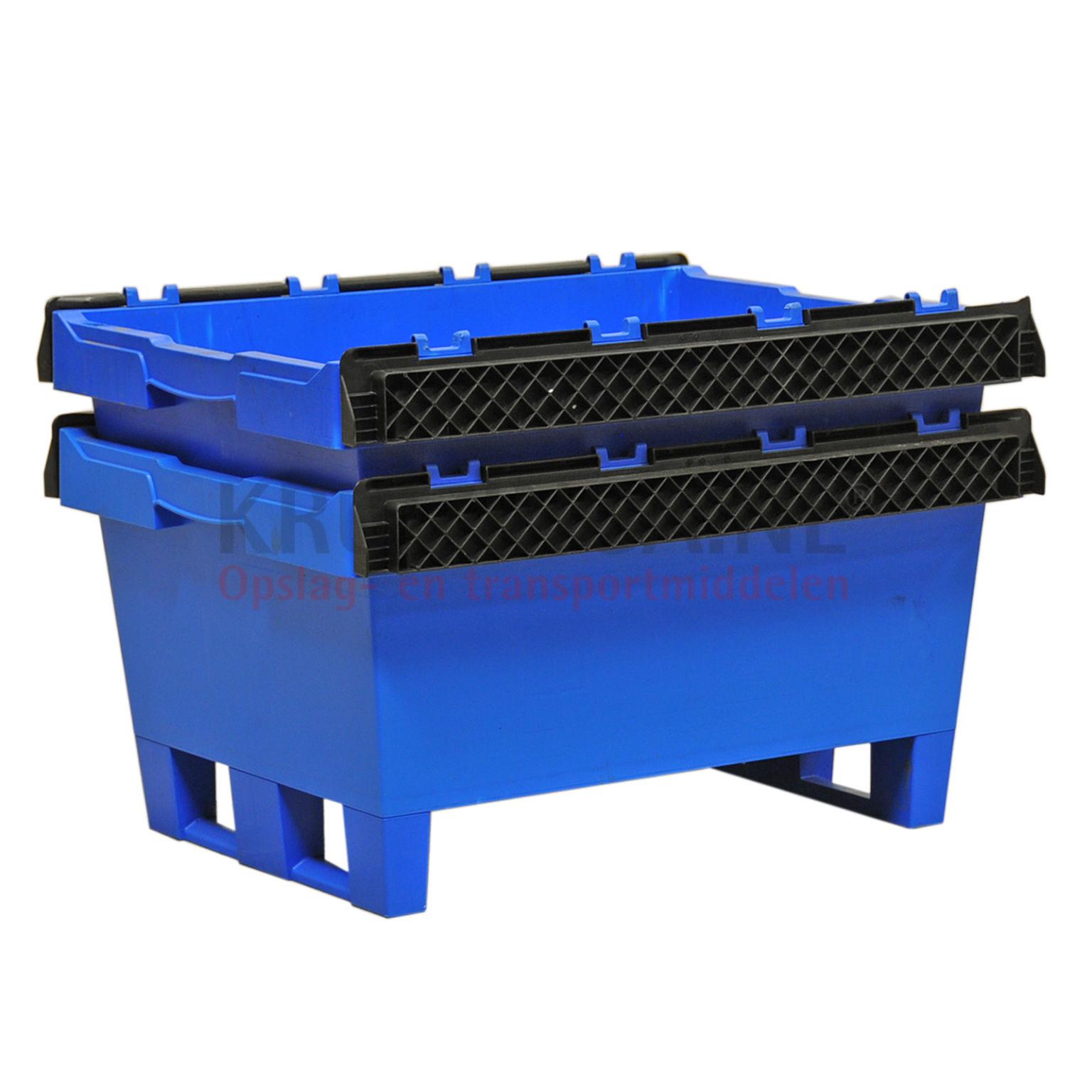 stapelboxen kunststoff schachtel und stapelbar alle w nde geschlossen gebraucht. Black Bedroom Furniture Sets. Home Design Ideas