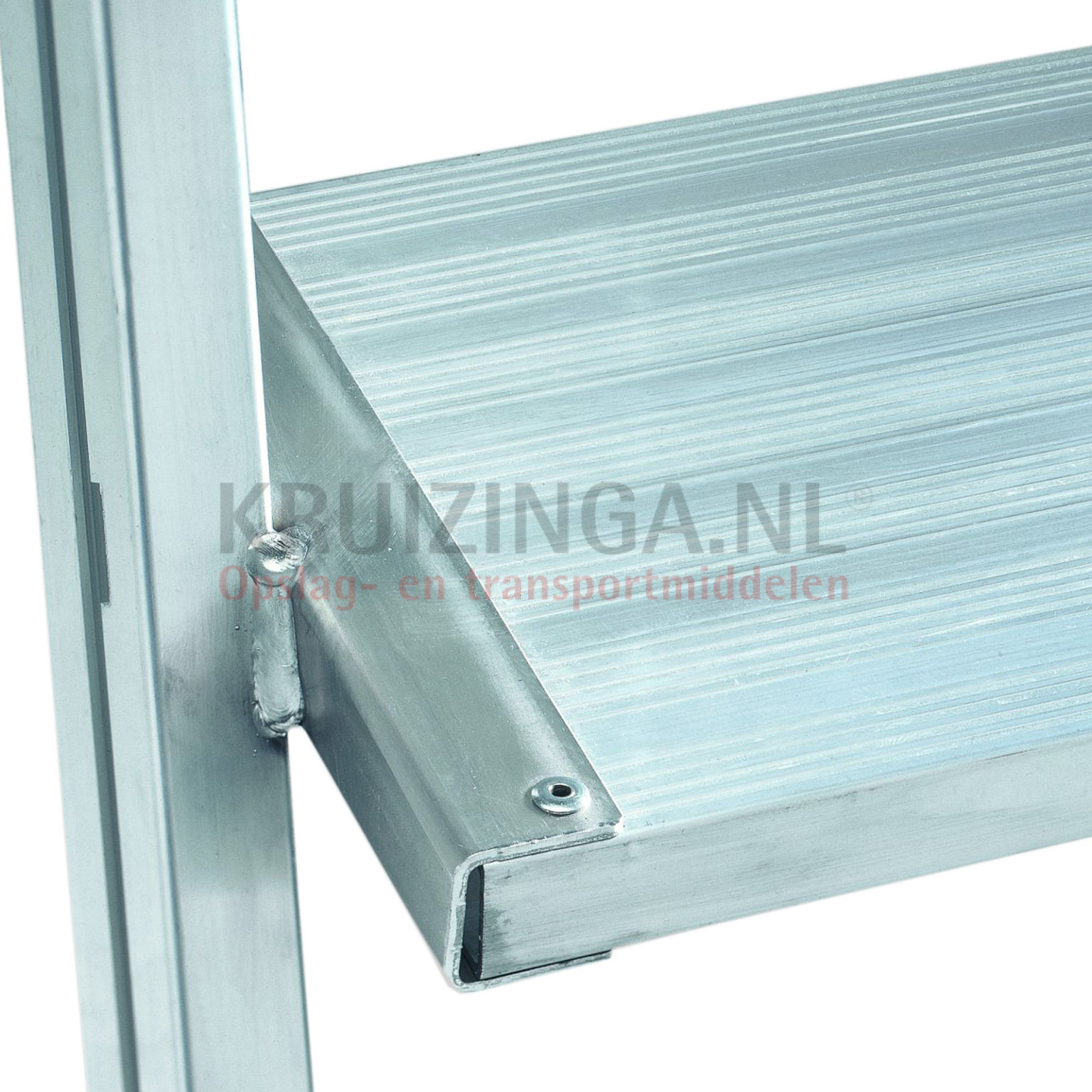 leiter aluminium prodestleiter einseitig begehbar 8 stufen inkl plattform. Black Bedroom Furniture Sets. Home Design Ideas