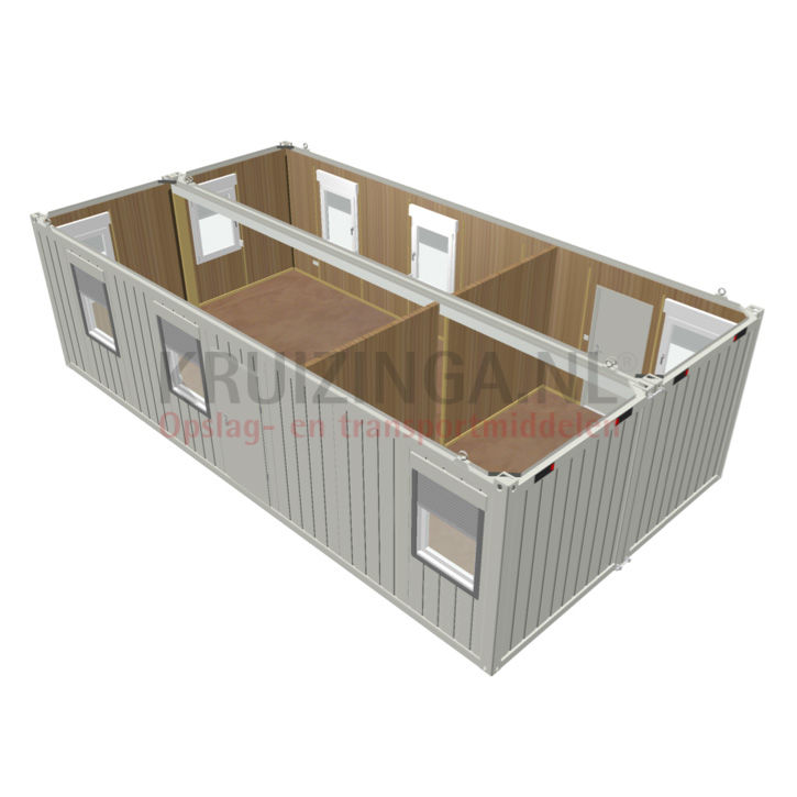 container accommodatiecontainer 30 ft 10900. Black Bedroom Furniture Sets. Home Design Ideas