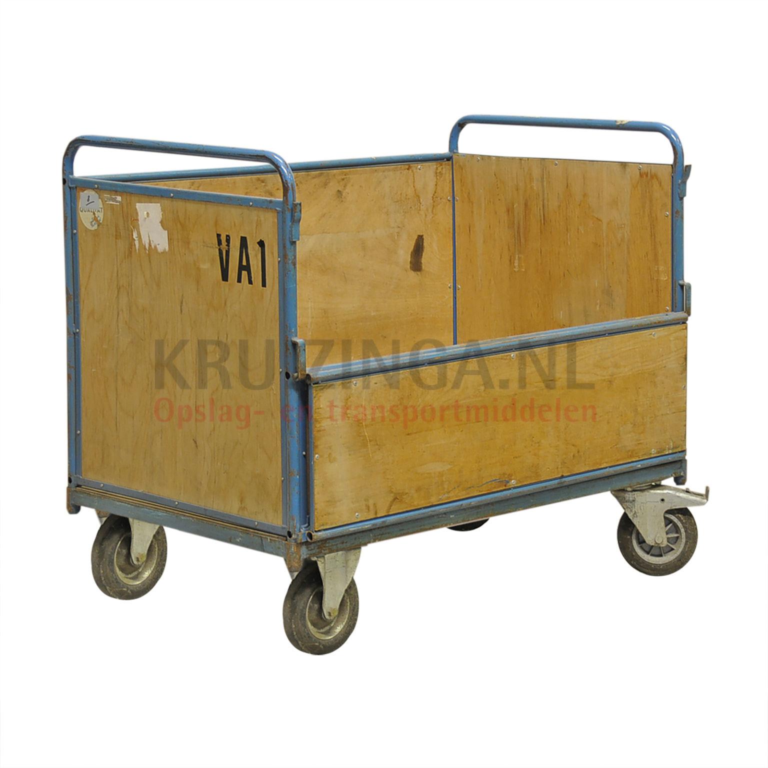 kastenwagen rollwagen kastenwagen 1 klappe an 1 langseite. Black Bedroom Furniture Sets. Home Design Ideas