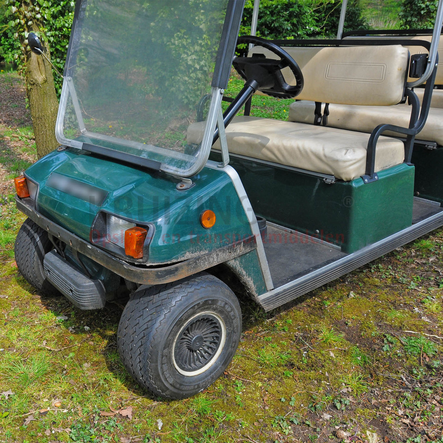 golf cart club car villager pour 8 personnes lectrique occasion. Black Bedroom Furniture Sets. Home Design Ideas