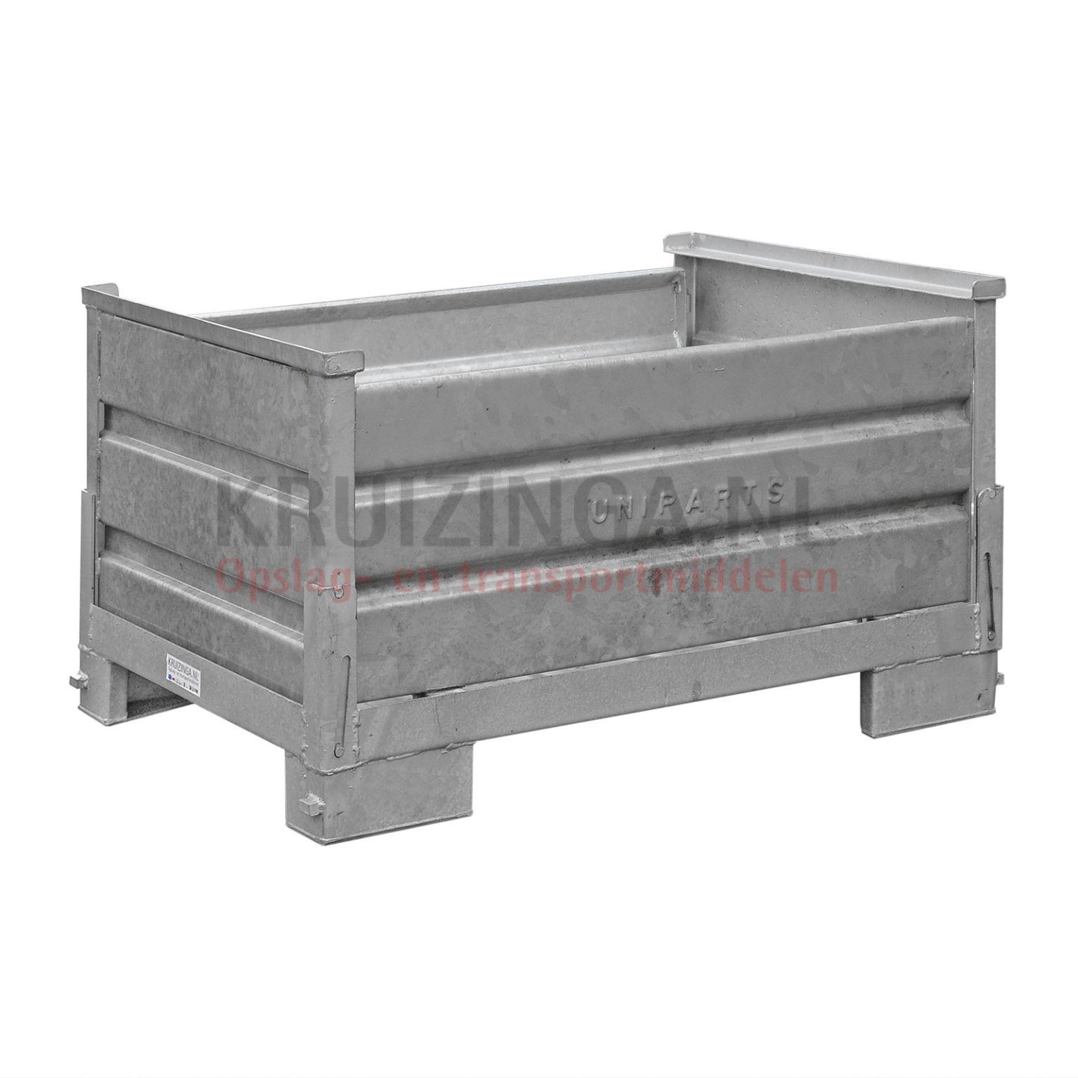 bac de rangement acier bac de rangement rabattable 4. Black Bedroom Furniture Sets. Home Design Ideas