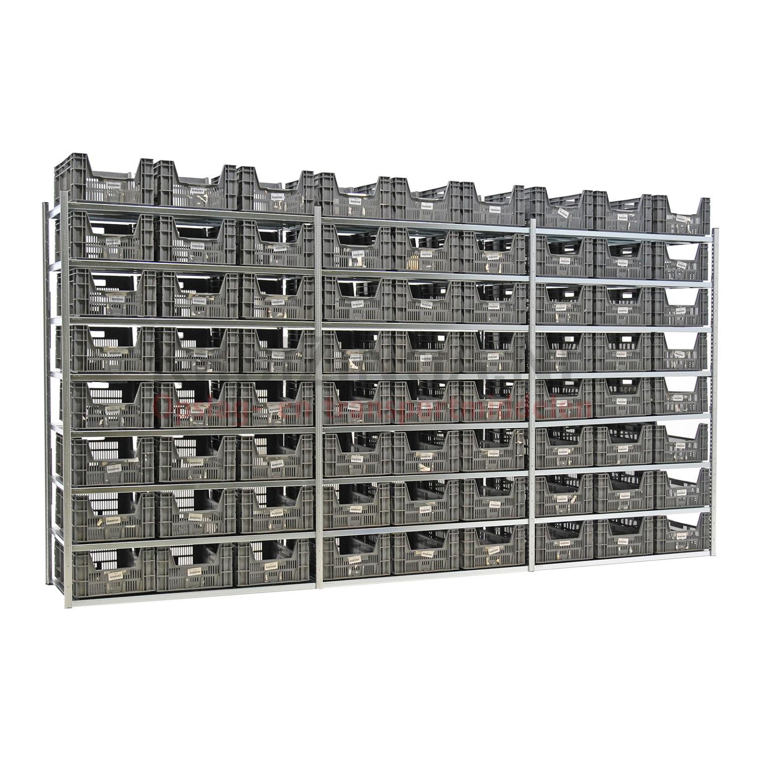 kombination satz regale kombination satz fachbodenregal inkl 72 stapelboxen gebraucht ab 740. Black Bedroom Furniture Sets. Home Design Ideas