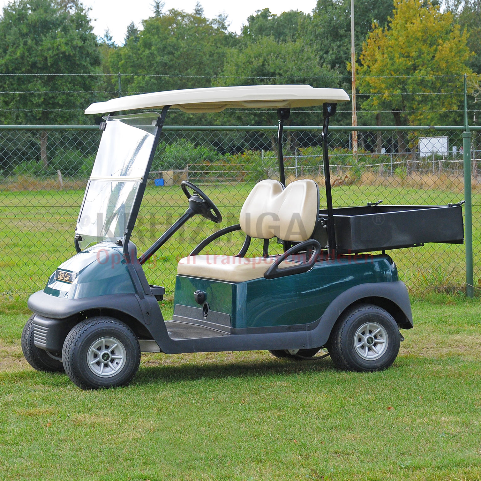 golfwagen club car precedent mit ladefl che elektrisch. Black Bedroom Furniture Sets. Home Design Ideas