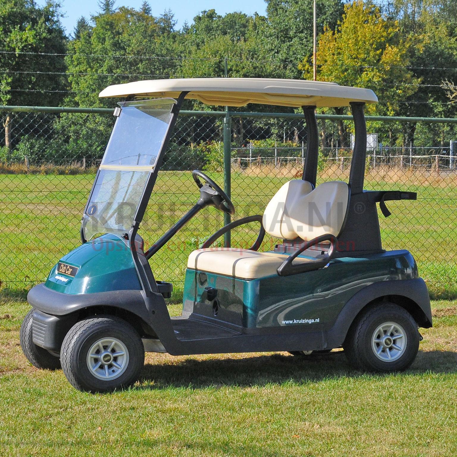 golfwagen club car precedent f r 2 personen elektrisch gebraucht. Black Bedroom Furniture Sets. Home Design Ideas