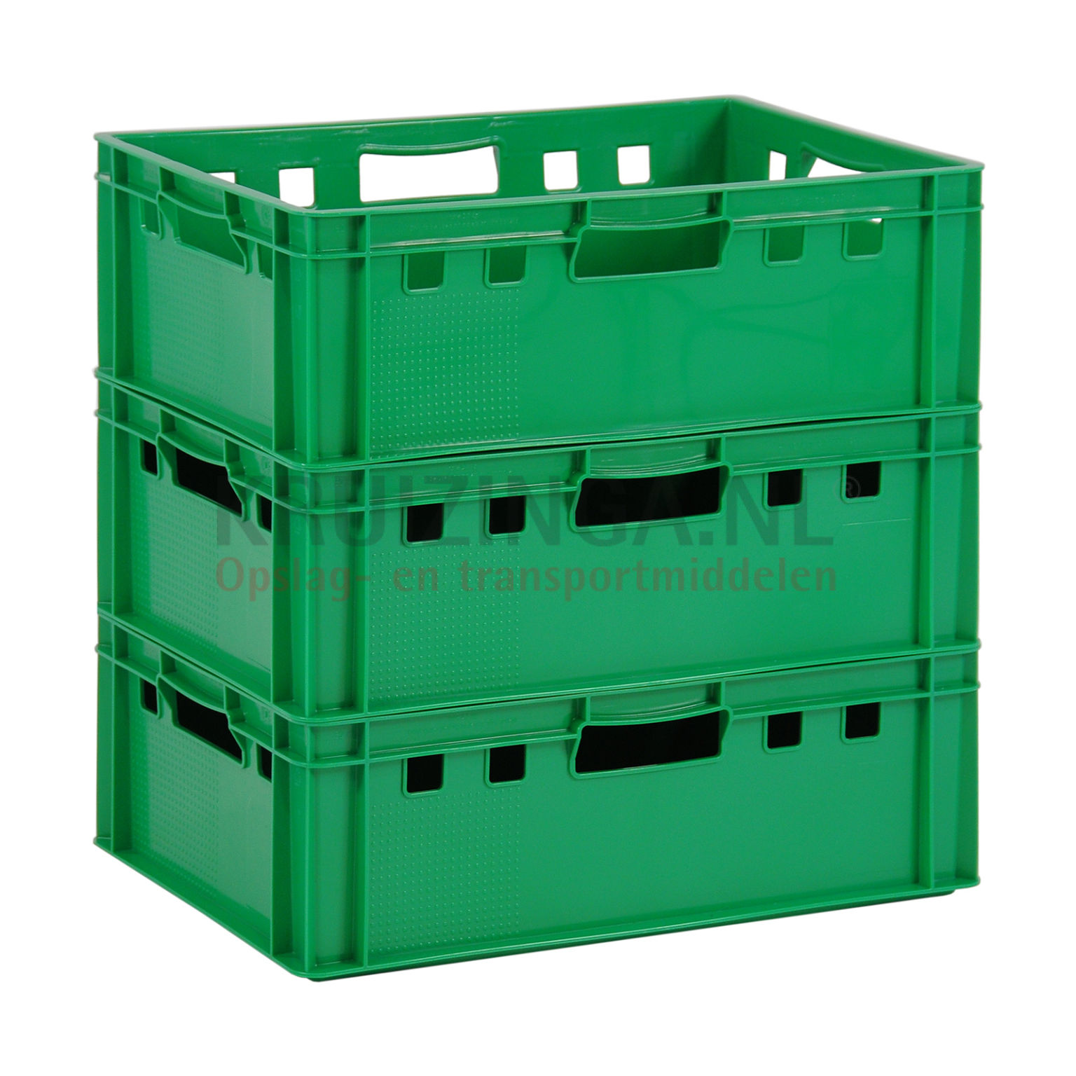 bac de rangement plastique gerbable e2 caisse de viande avec poign es ouvert partir de 8 90. Black Bedroom Furniture Sets. Home Design Ideas