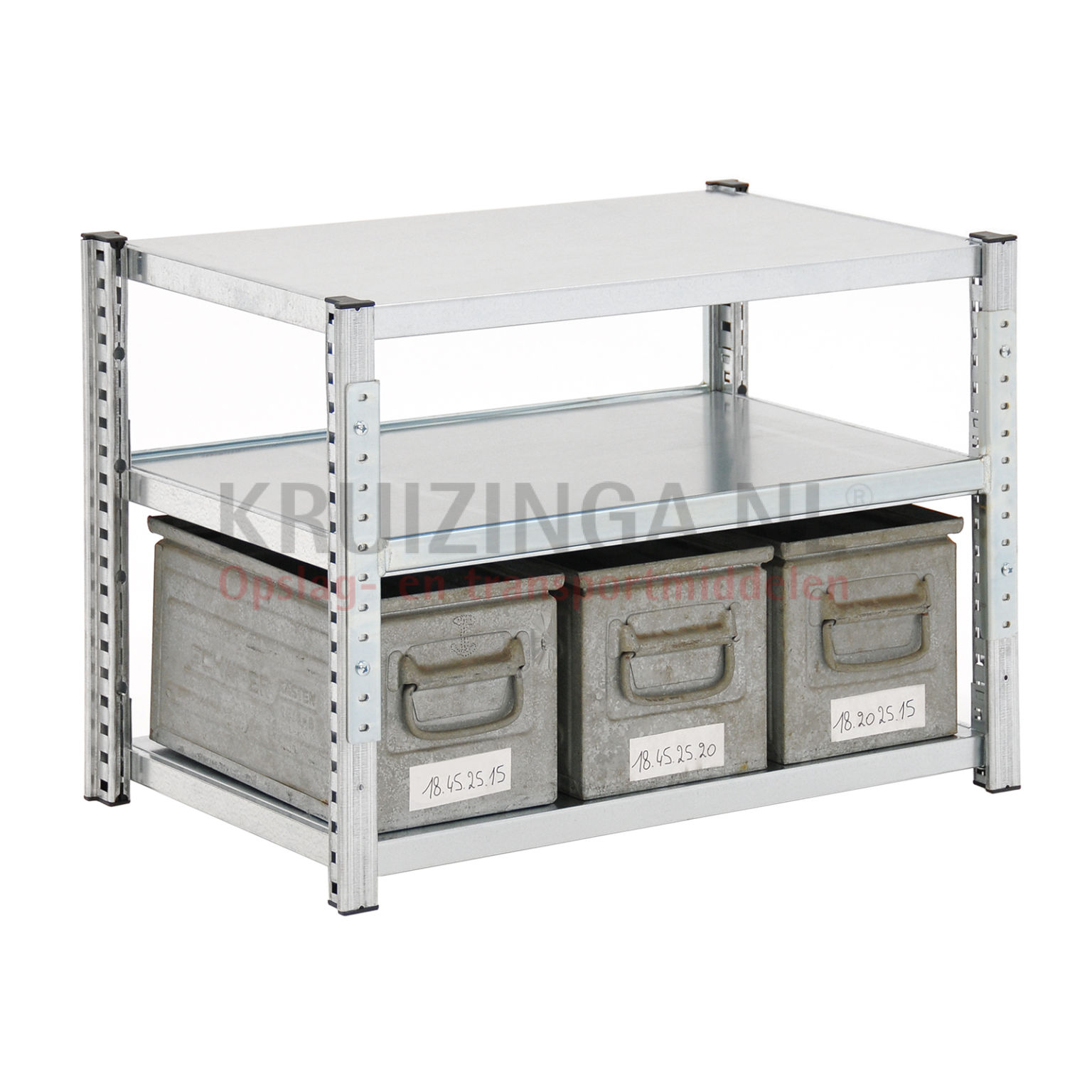bac a bec en acier armoire pour rayonnage avec 3 bacs de rangement occasion. Black Bedroom Furniture Sets. Home Design Ideas