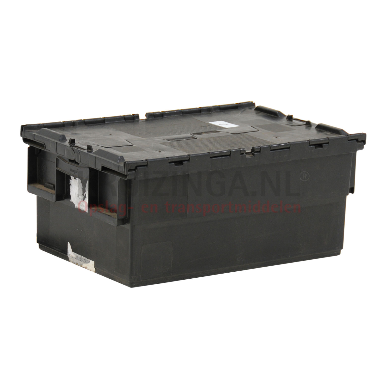 stapelboxen kunststoff schachtel und stapelbar mit 2 teiligem deckel gebraucht. Black Bedroom Furniture Sets. Home Design Ideas
