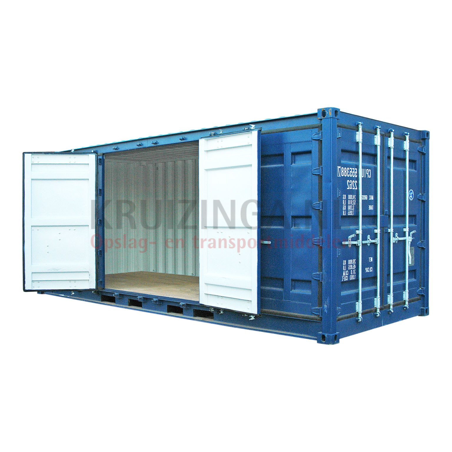 container full side open 20 fu 4950. Black Bedroom Furniture Sets. Home Design Ideas