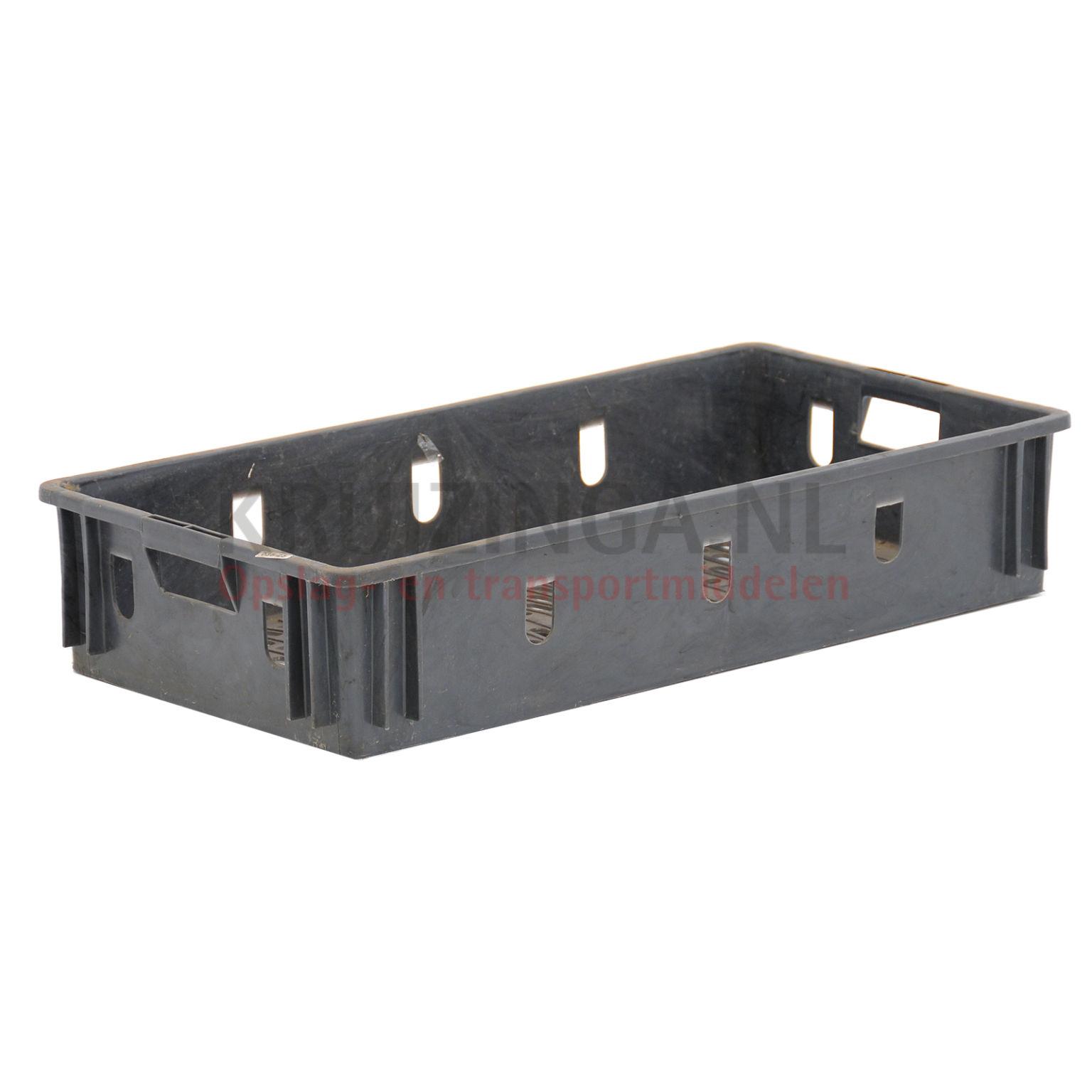 stapelboxen kunststoff stapelbar perforierte w nde und boden gebraucht ab 4 86 frei haus. Black Bedroom Furniture Sets. Home Design Ideas