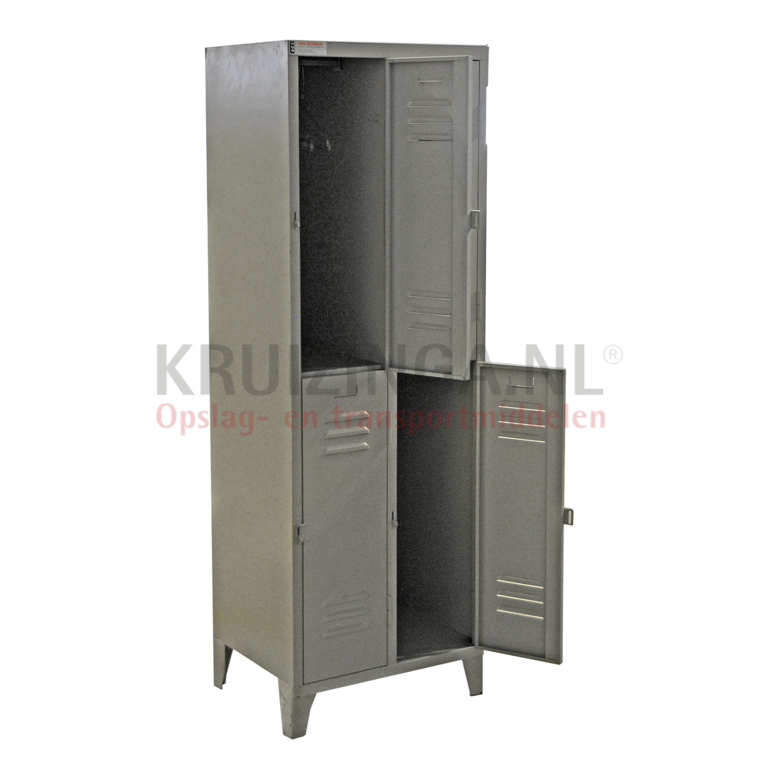 armoire casier 4 portes occasion 313 50 frais de livraison inclus. Black Bedroom Furniture Sets. Home Design Ideas