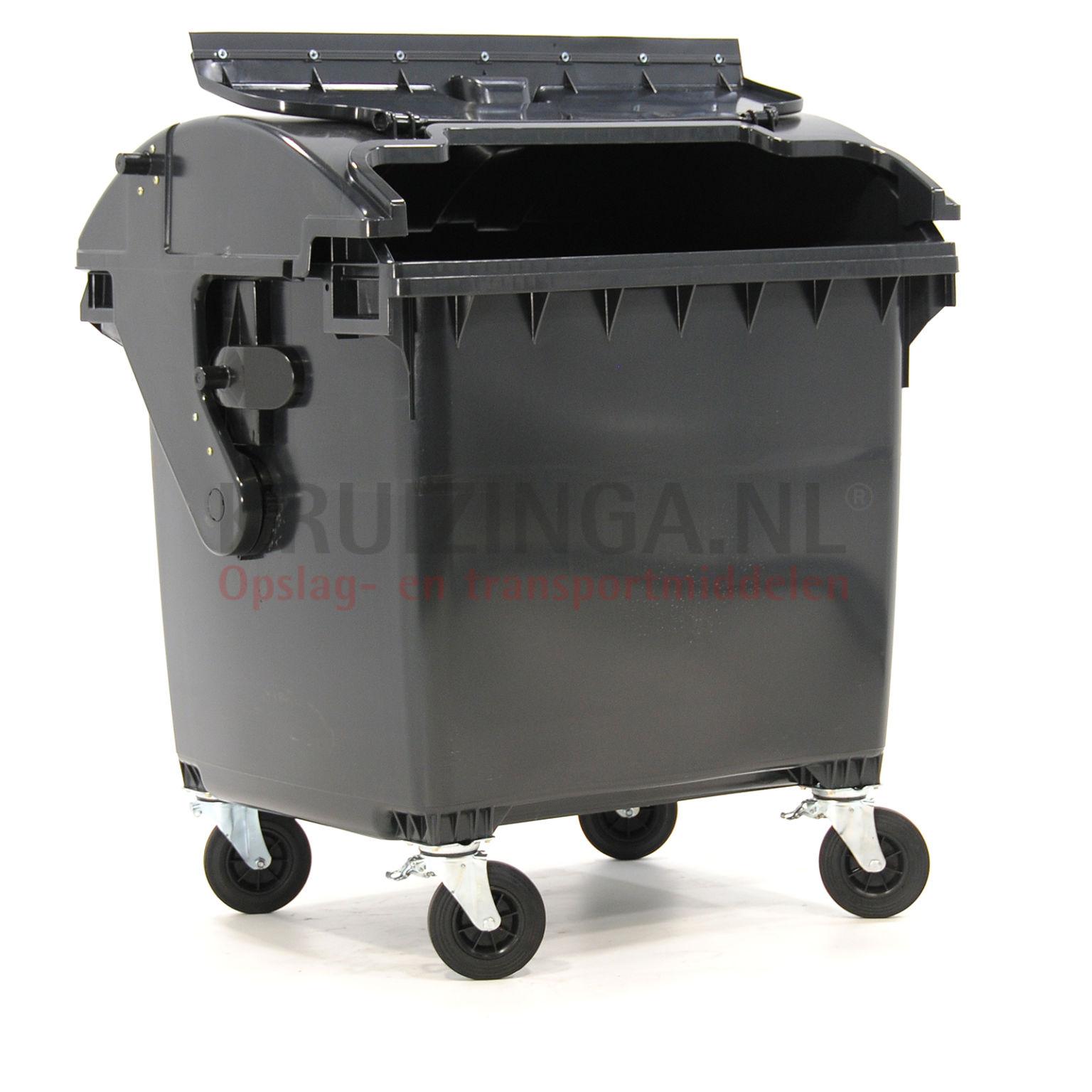 m llcontainer abfall und reinigung geeignet f r die aufnahme mit din adapter mit scharnierdeckel. Black Bedroom Furniture Sets. Home Design Ideas