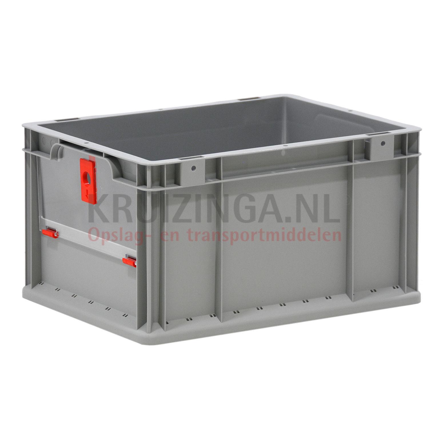 stapelboxen kunststoff zubeh r schwenkbare klappe f r kurzen seite ab 6 25 frei haus. Black Bedroom Furniture Sets. Home Design Ideas