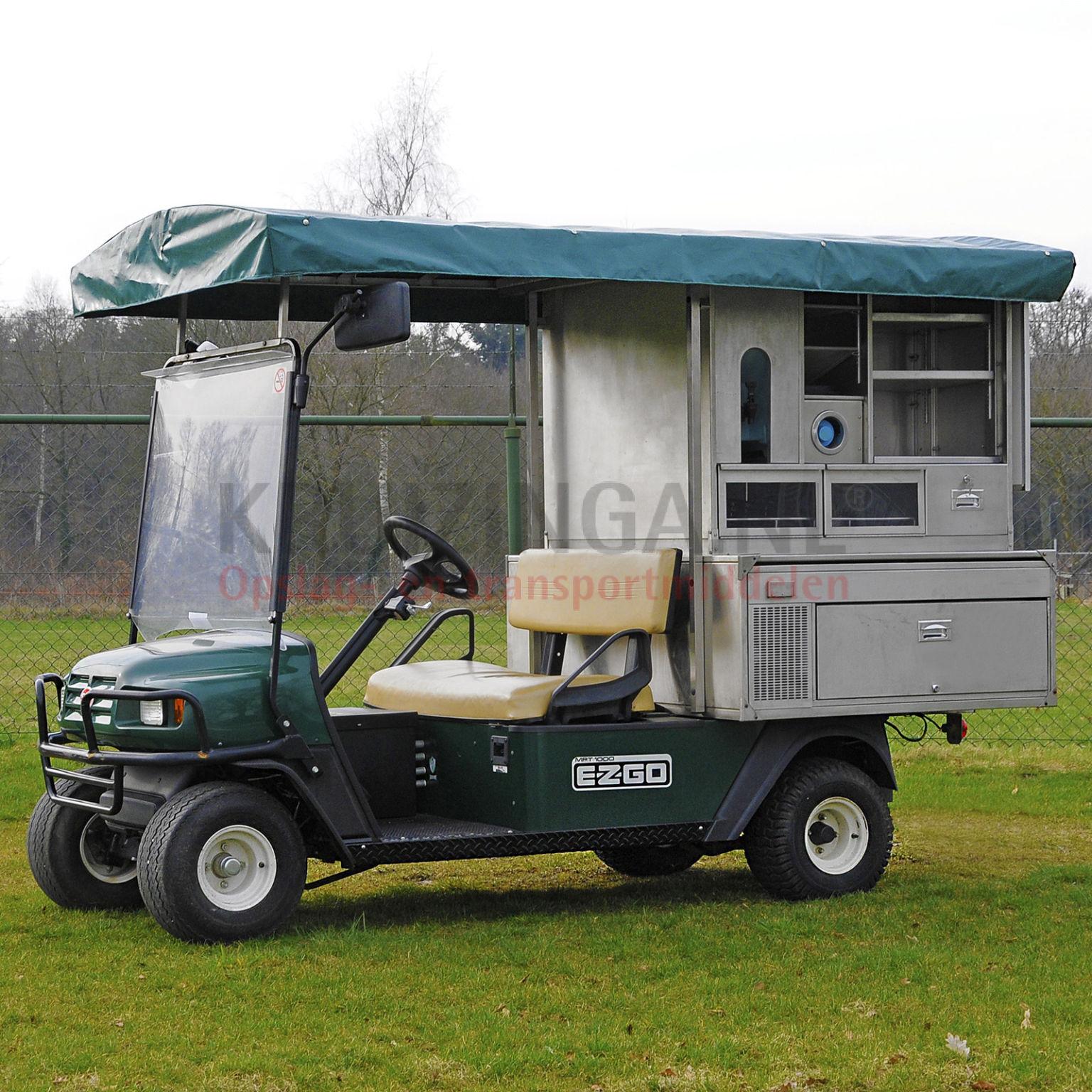 golfkar e z go foodtruck elektrisch. Black Bedroom Furniture Sets. Home Design Ideas