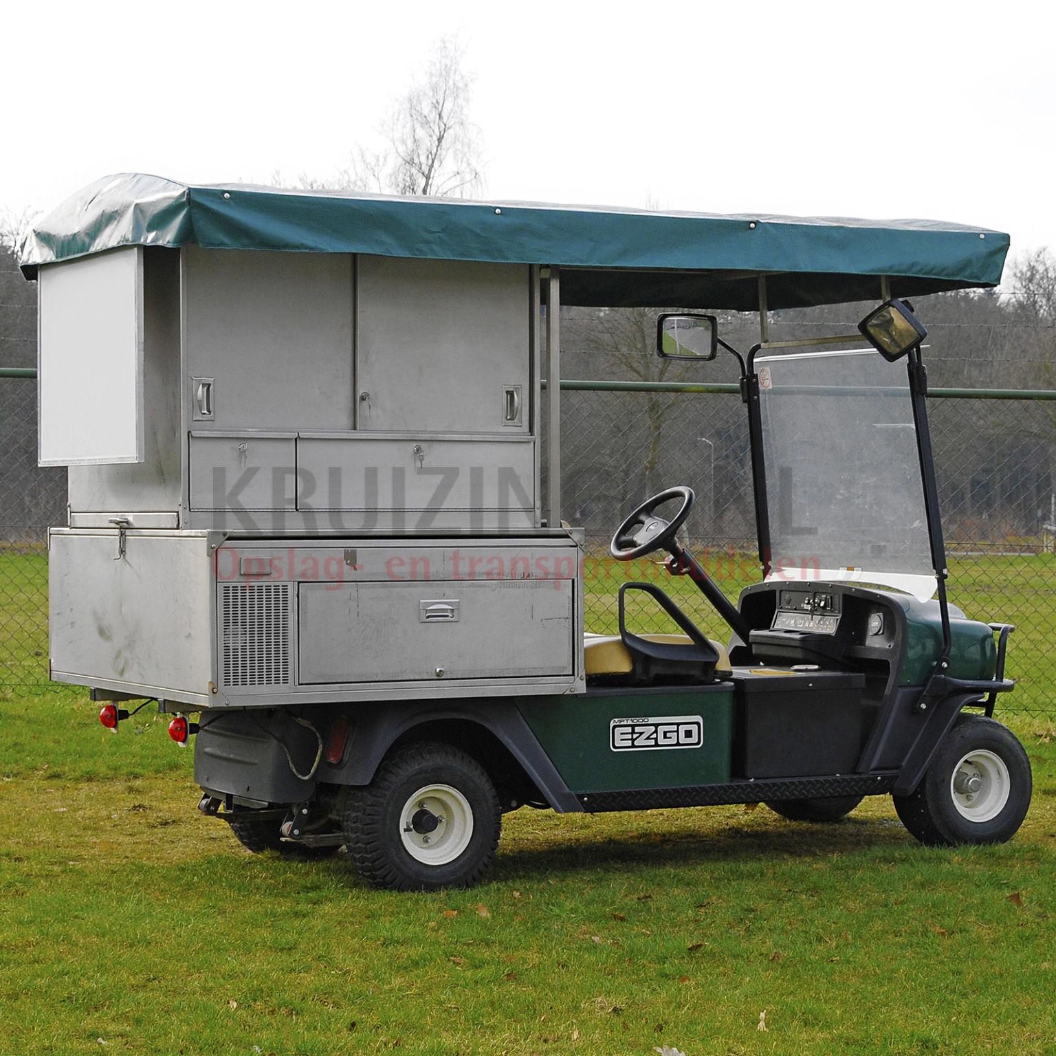 golfwagen e z go foodtruck elektrisch gebraucht. Black Bedroom Furniture Sets. Home Design Ideas