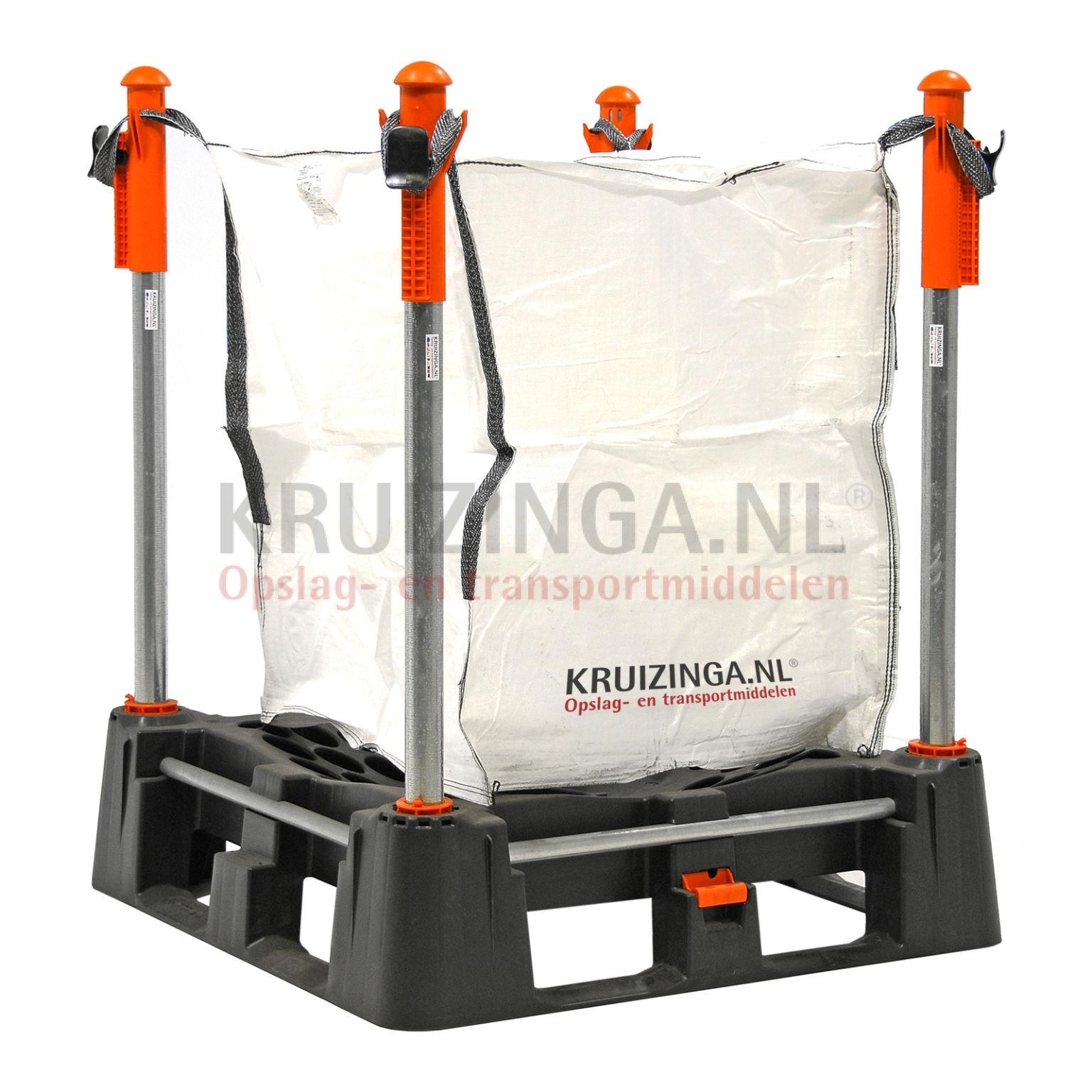 big bag rack big bag rack met onderlosmogelijkheid vanaf 330 75 incl levering. Black Bedroom Furniture Sets. Home Design Ideas