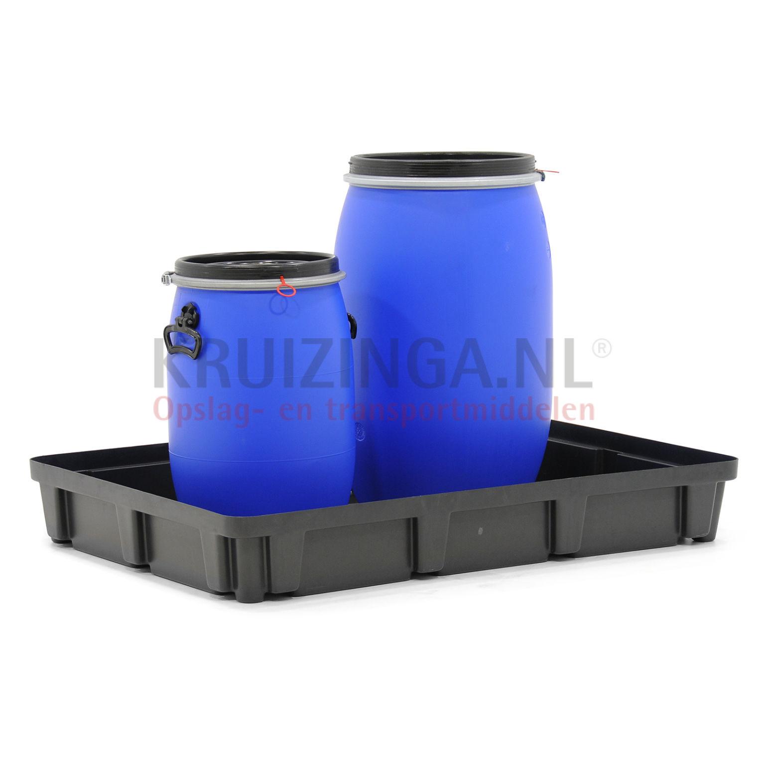 bac de rangement plastique emboitable convenable pour format palette 1200x800 mm occasion. Black Bedroom Furniture Sets. Home Design Ideas