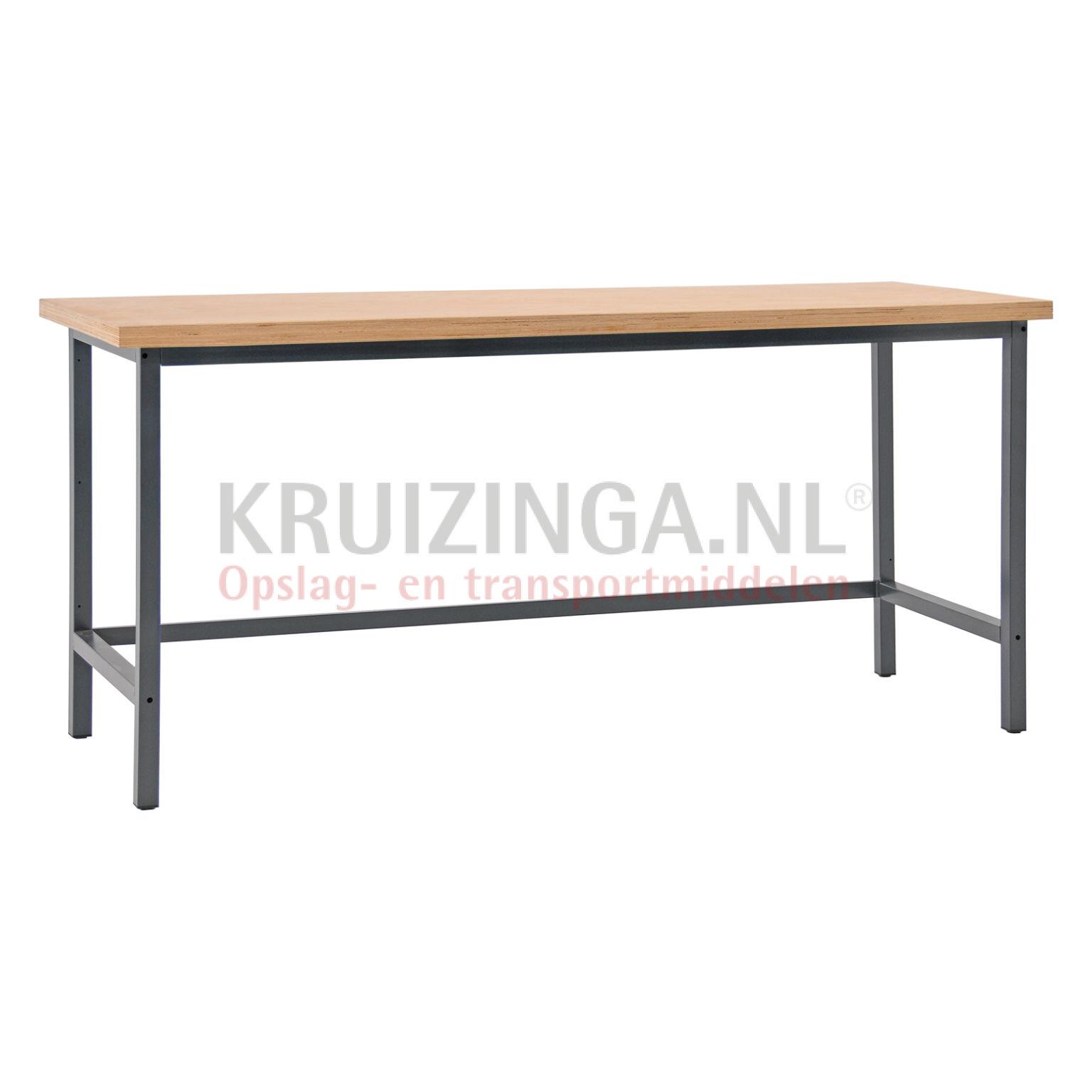 table de travail table de travail sans tiroir 200 cm partir de 515 75 frais de livraison. Black Bedroom Furniture Sets. Home Design Ideas
