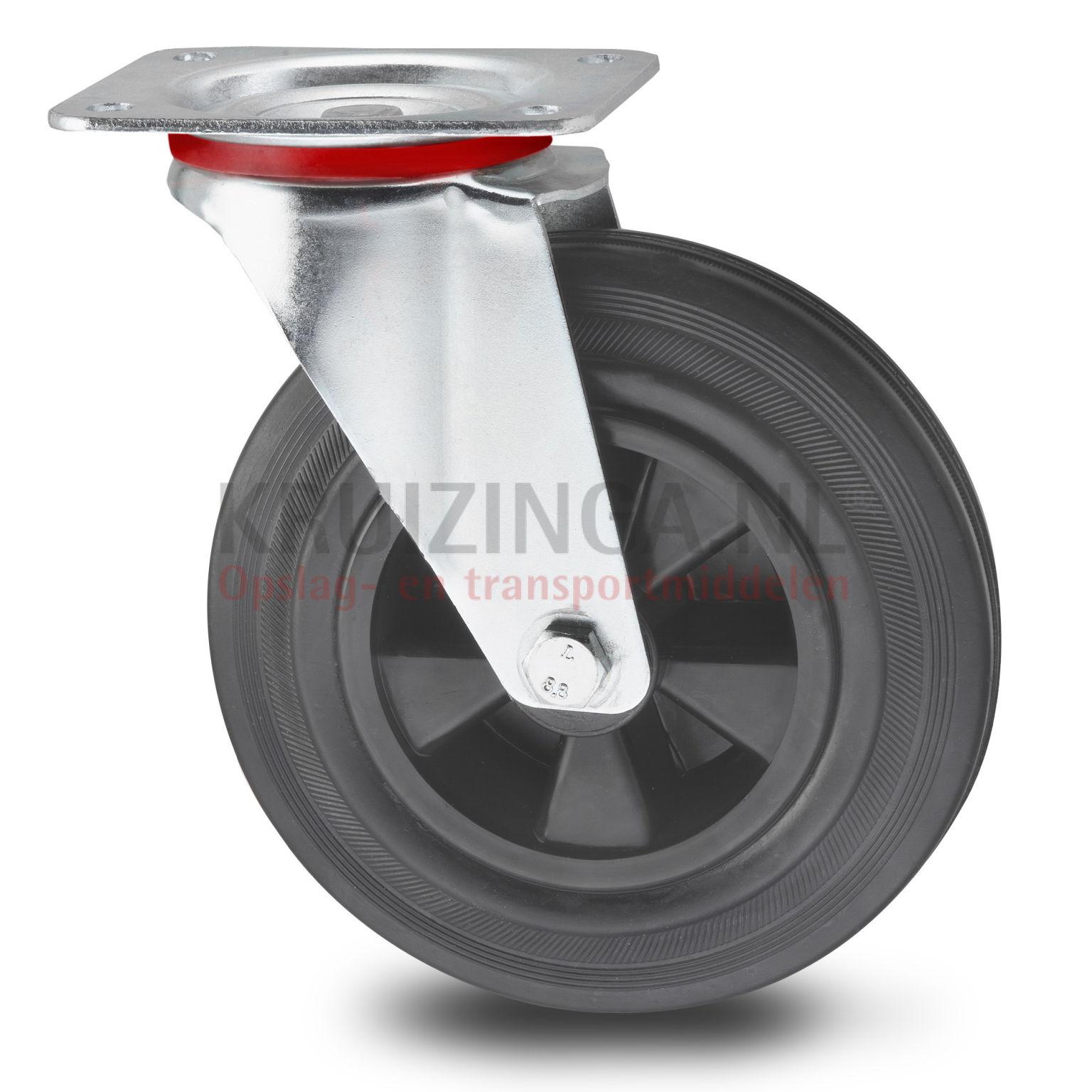 rollen und r der lenkrolle 200 mm ab 13 05 frei haus. Black Bedroom Furniture Sets. Home Design Ideas