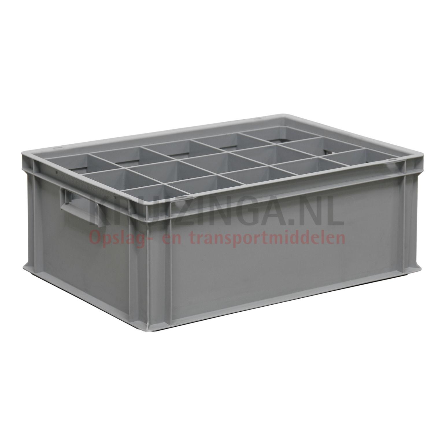 bac de rangement plastique accessoires compartimentage pour des verres. Black Bedroom Furniture Sets. Home Design Ideas