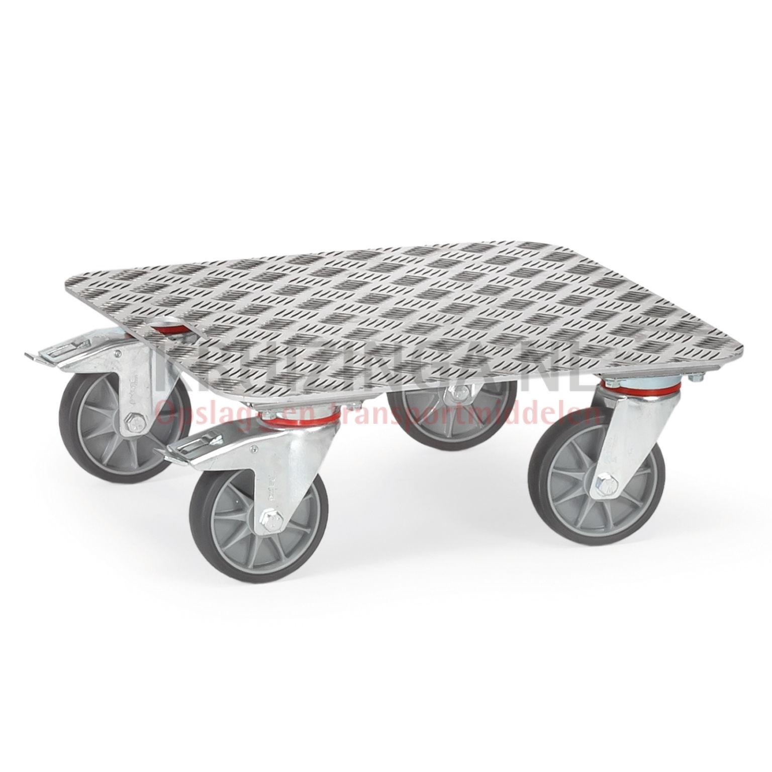 chariot ch ssis plateau roulant plate forme en aluminium 125 50 frais de livraison inclus. Black Bedroom Furniture Sets. Home Design Ideas