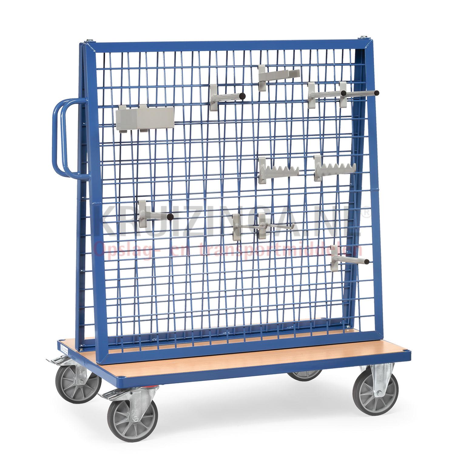 chariots porte outils et pi ces chariot de manutention chariot porte outils deux c t s 2. Black Bedroom Furniture Sets. Home Design Ideas