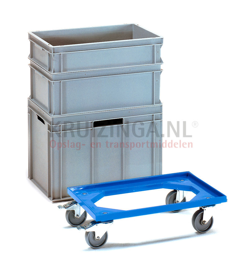 chariot ch ssis plateau roulant 4 roues pivotantes avec. Black Bedroom Furniture Sets. Home Design Ideas
