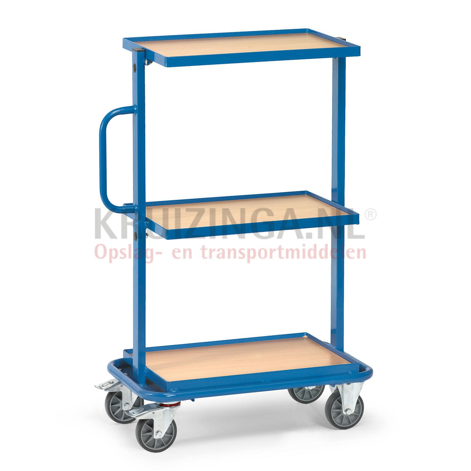 beistellwagen rollwagen beistellwagen f r 3 eurobeh lter 600x400 mm geeignet 299 frei haus. Black Bedroom Furniture Sets. Home Design Ideas