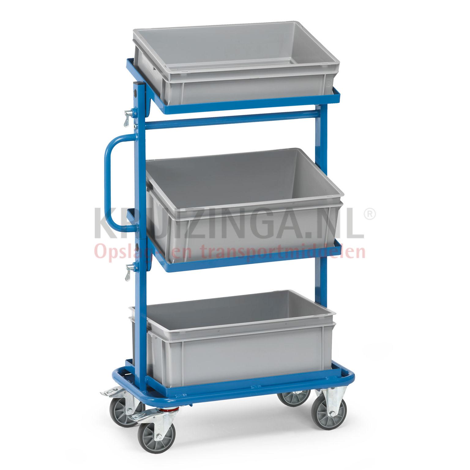 beistellwagen rollwagen beistellwagen inkl 3 kunststoffbeh lter 277 50 frei haus. Black Bedroom Furniture Sets. Home Design Ideas