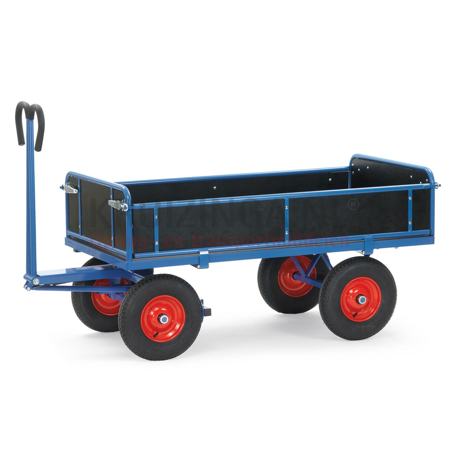 chariot transport chariot bras avec 4 parois en bois. Black Bedroom Furniture Sets. Home Design Ideas