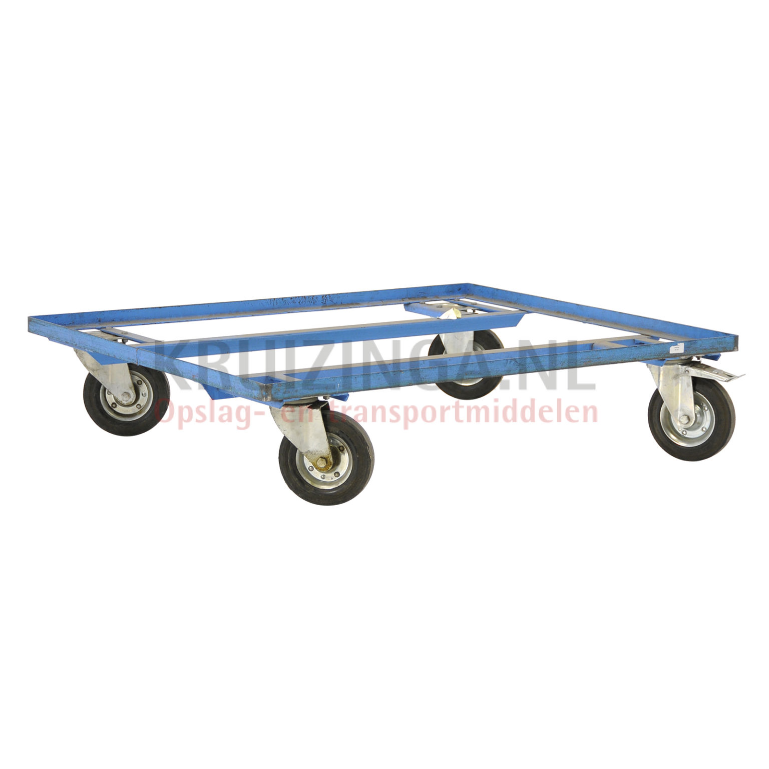 chariot ch ssis plateau roulant convenable pour format palette 1200x1000 mm occasion partir. Black Bedroom Furniture Sets. Home Design Ideas